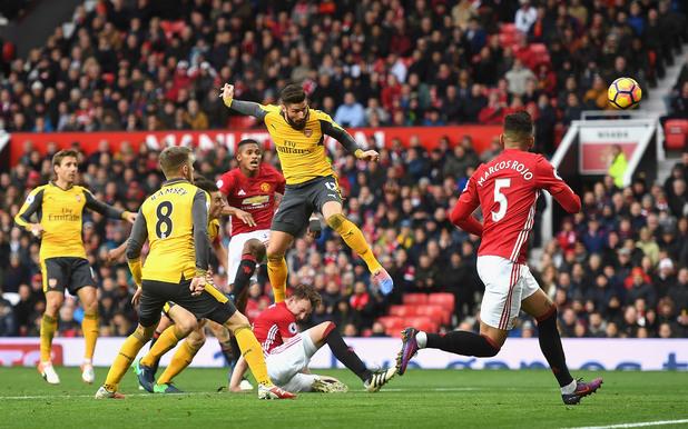 Манчестър Юнайтед - Арсенал 1:1