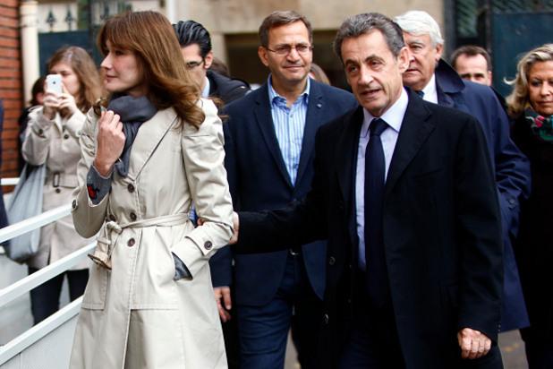 Никола Саркози и Карла Бруни