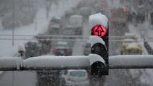 Улици в снега