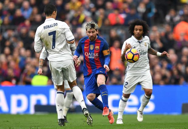 Барса - Реал 1:1