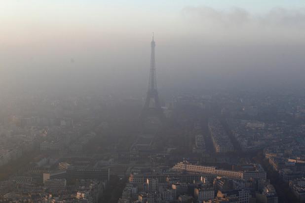 замърсяване на въздуха, Париж