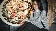 Луиза Григорова в ресторант SASA