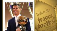 Кристиано Роналдо със Златната топка 2016