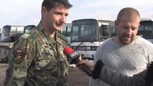 Динко Вълев и майор от армията