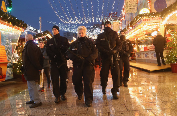 полиция в берлин