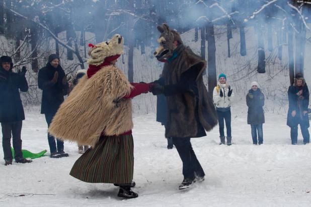 зимни традиции в латвия