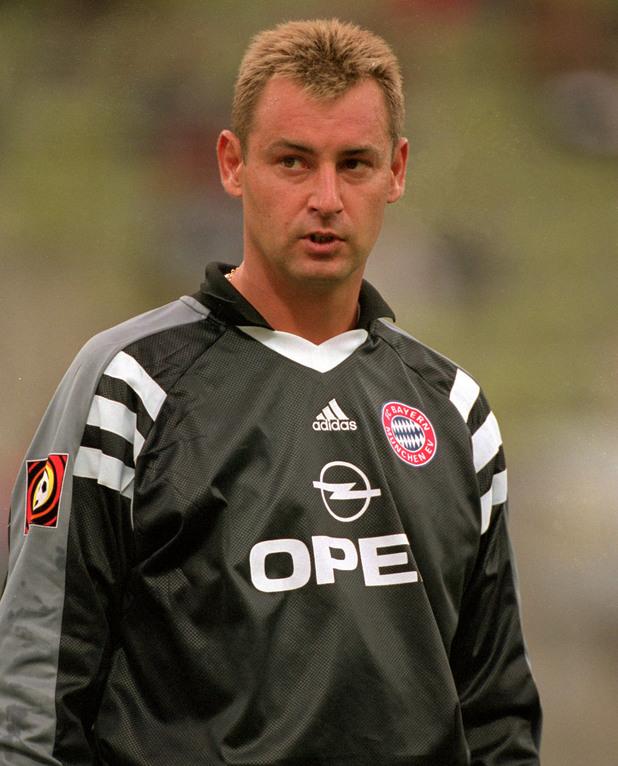 Бернд Дреер като вратар на Байерн Мюнхен през 2000 г.