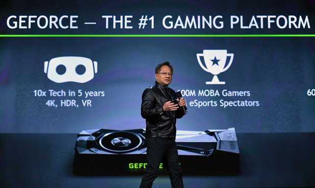 Nvidia Geforce at CES 2017