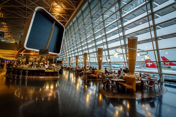 летището в цюрих