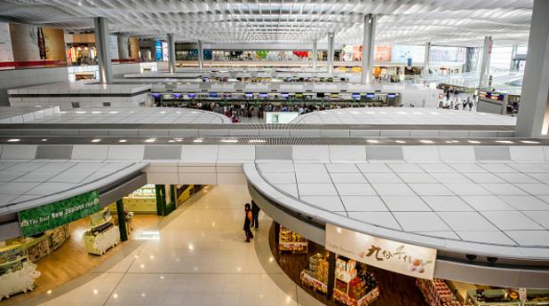 летище хонконг
