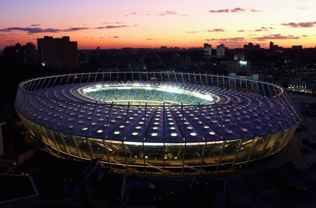 украйна, олимпийски стадион