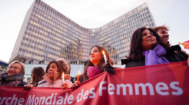 походът на жените - брюксел