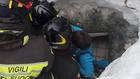 лавина унищожи хотел в италия