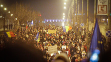 Протести в Румъния
