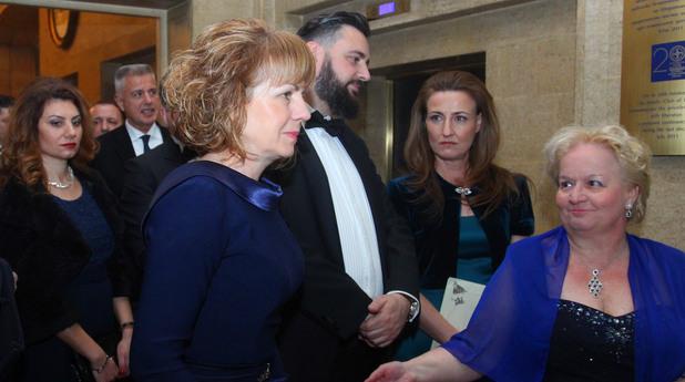 Виенски благотворителен бал 2017 - Йорданка Фандъкова, Алена