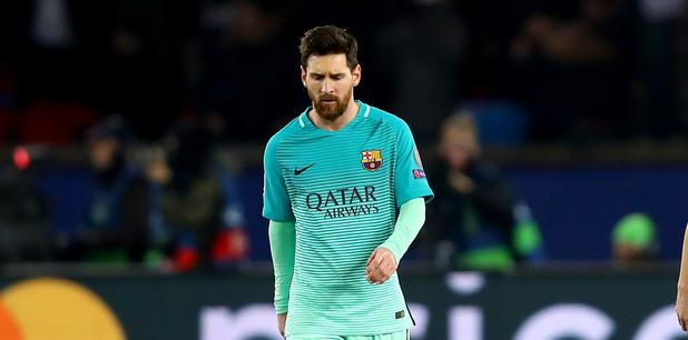 Пари Сен Жермен - Барселона 4:0