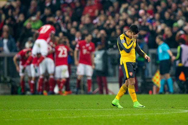 Байерн Мюнхен - Арсенал 5:1