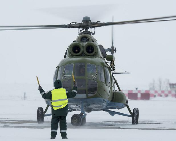военен хеликоптер ми-8