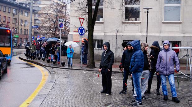 Паметник Васил Левски, 19 февруари 2017