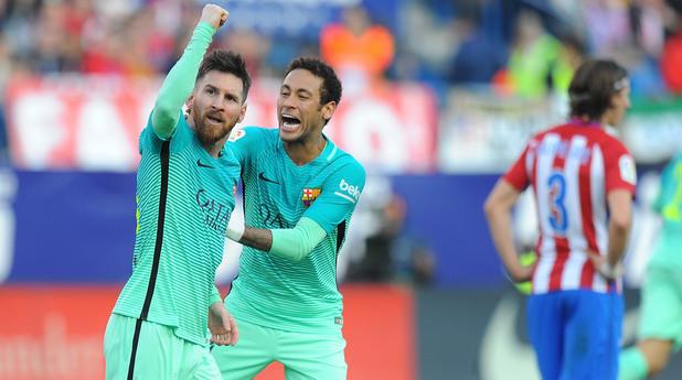 Атлетико Мадрид - Барселона 1:2
