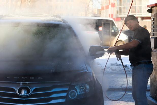 миене на кола, автомивка