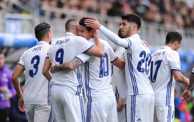 Ейбар - Реал Мадрид 1:4
