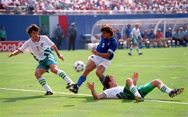 България - Италия САЩ 94