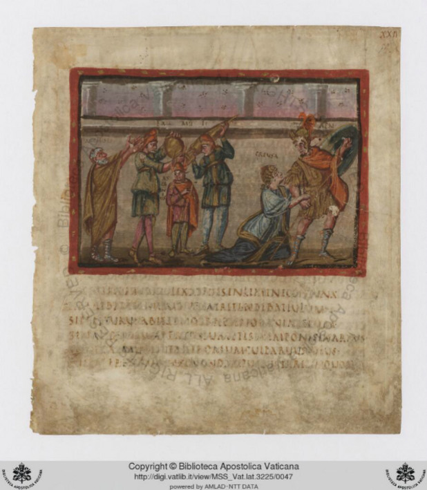 folio 22 recto, ватикана