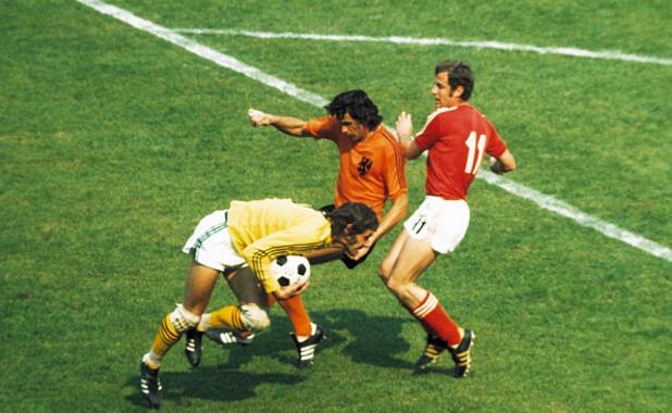 Холандия – България 4:1, 23 юни 1974 г.,