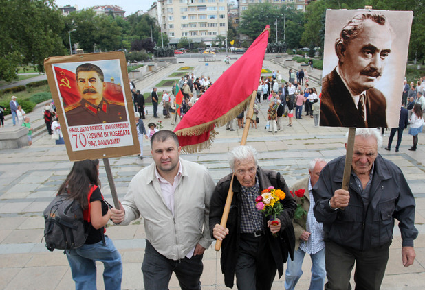 Сталин, Героги Димитров