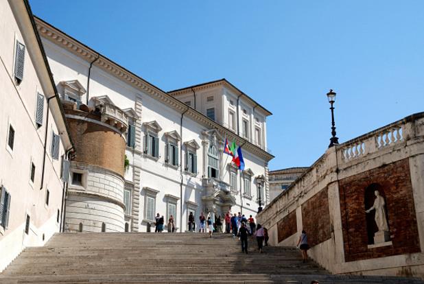 дворецът куиринале