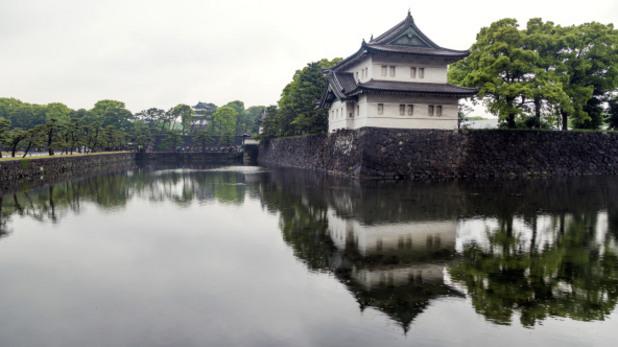 императорският дворец в токио