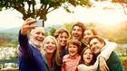 селфи със семейството