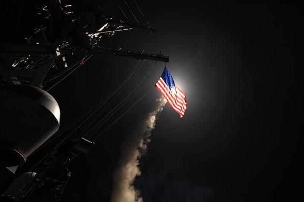 ракетни удари на САЩ срещу Сирия