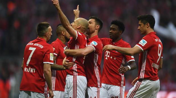 Байерн Мюнхен - Борусия Дортмунд 4:1