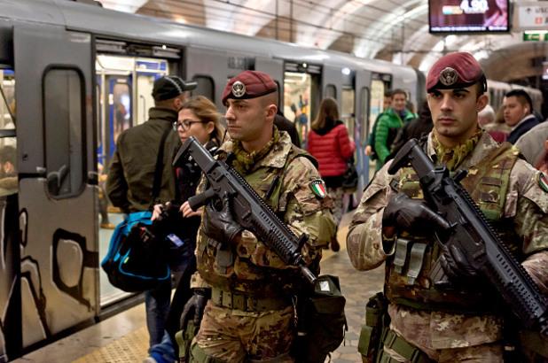 италиански спецслужби
