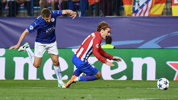 Атлетико Мадрид - Лестър 1:0