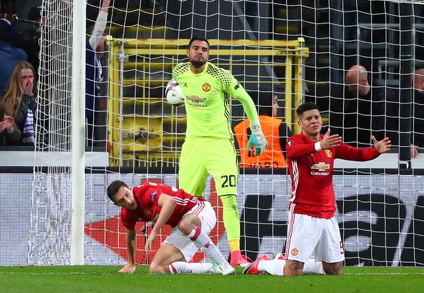 Андерлехт - Манчестър Юнайтед 1:1