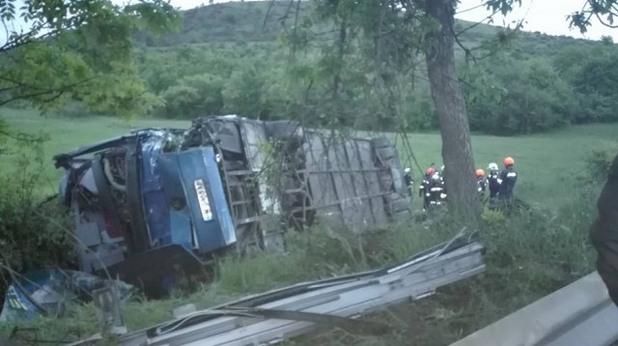 катастрофа на автобус при смоляновци