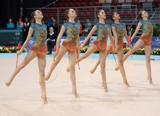 художествена гимнастика, девойки
