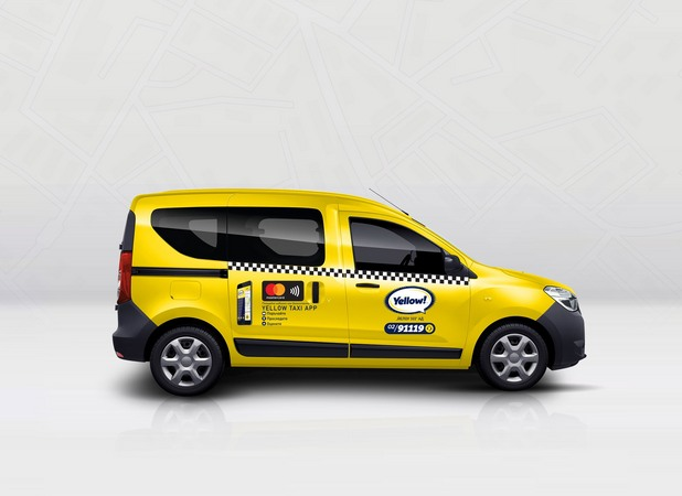 yellow special taxi