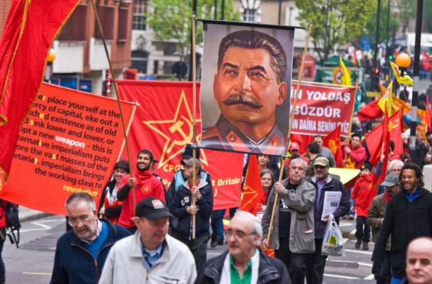 празнуване на 1 май в Лондон