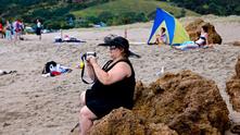 жена с наднормено тегло