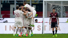 Милан - Рома 1:4
