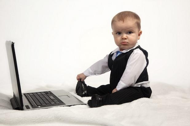 бебе, работа, служител