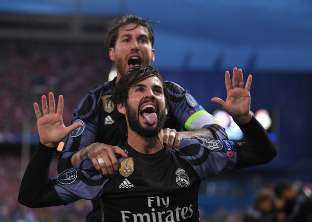 Атлетико Мадрид - Реал Мадрид 2:1