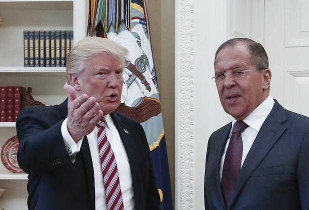 Сергей Лавров, Доналд Тръмп