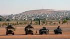 турски патрули по границата със сирия