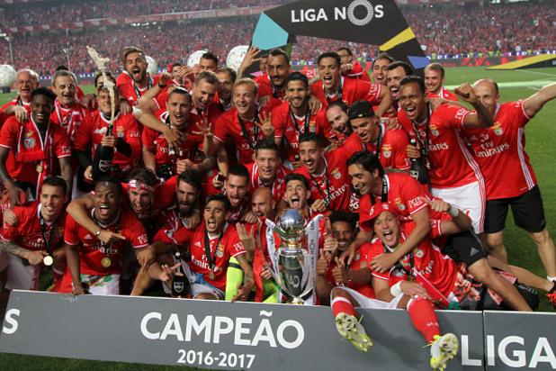 Бенфика - шампион на Португалия за 2017 г.