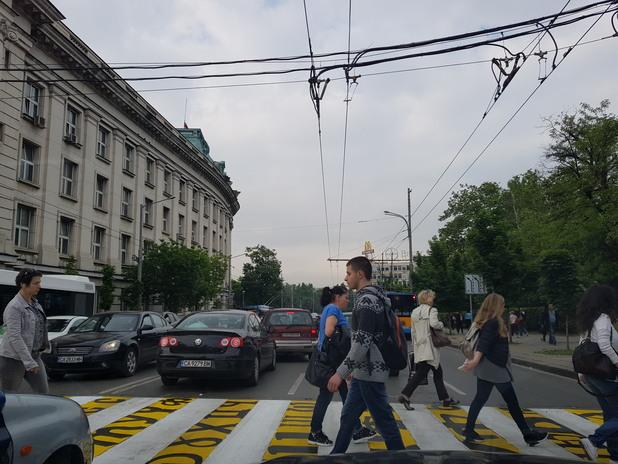 пешеходна пътека, софия